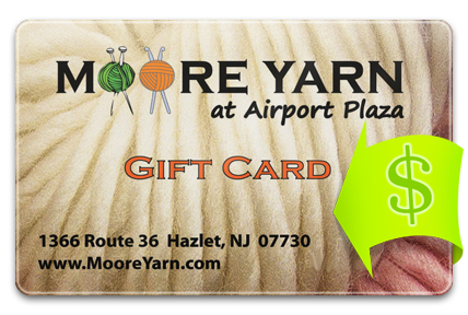 Recharge your Moore Yarn Card